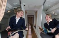 Tận mắt xem phòng ngủ bí mật trên máy bay của các tiếp viên và phi công