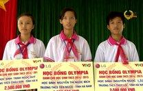 Quỹ học bổng Đường lên đỉnh Olympia trung học cơ sở đến tỉnh Hà Nam